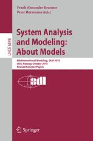 System Analysis and Modeling: About Models