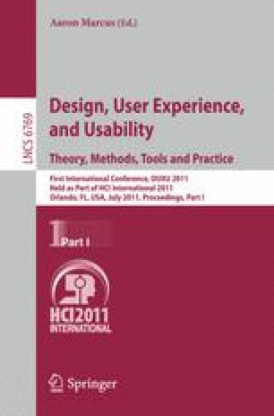 Design, User Experience, and Usability. Theory, Methods, Tools and Practice