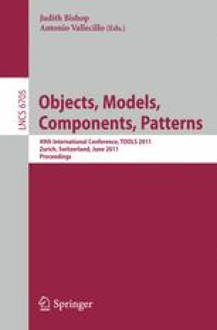 Objects, Models, Components, Patterns