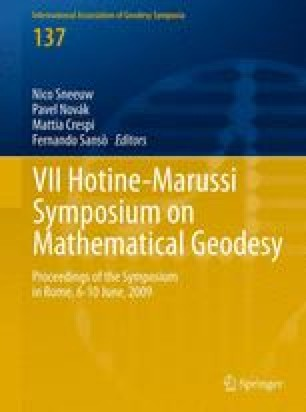 VII Hotine-Marussi Symposium on Mathematical Geodesy