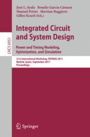Integrated Circuit and System Design. Power and Timing Modeling, Optimization, and Simulation