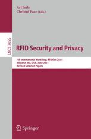 RFID. Security and Privacy