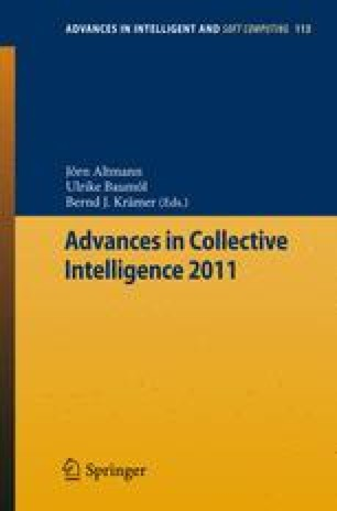 Advances in Collective Intelligence 2011