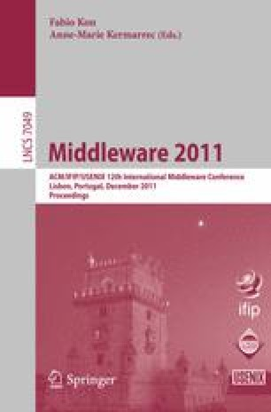 Middleware 2011