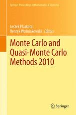 Monte Carlo and  Quasi-Monte Carlo Methods 2010