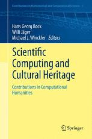 Scientific Computing and Cultural Heritage