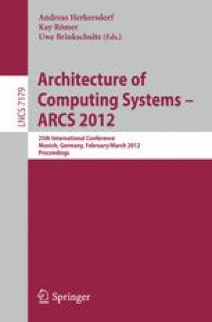 Architecture of Computing Systems – ARCS 2012
