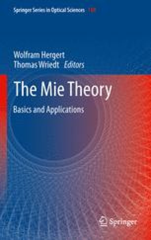 Mie Theory: A Review   SpringerLink
