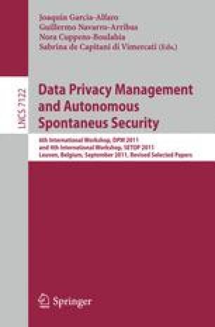 Data Privacy Management and Autonomous Spontaneus Security