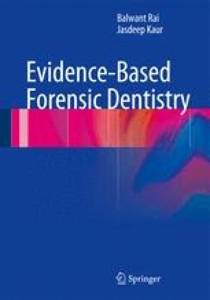Evidence Based Forensic Dentistry Springerlink