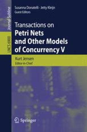 Transactions on Petri Nets and Other Models of Concurrency V