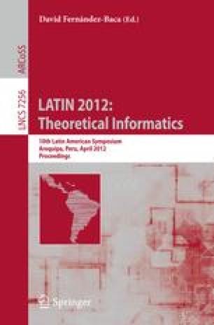 LATIN 2012: Theoretical Informatics