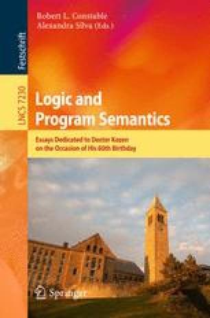 Logic and Program Semantics