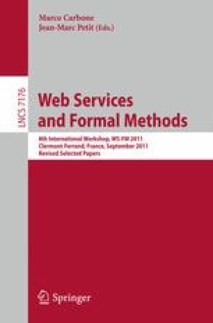 Web Services and Formal Methods