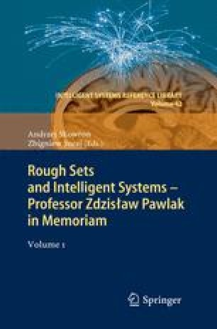 Rough Sets and Intelligent Systems - Professor Zdzisław Pawlak in Memoriam