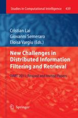 New Challenges in Distributed Information Filtering and Retrieval