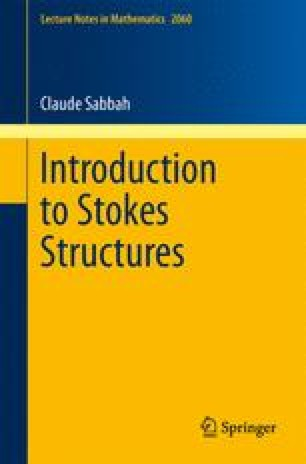 Introduction to Stokes Structures