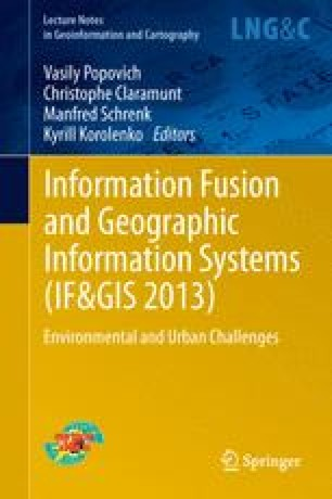 Information Fusion and Geographic Information Systems (IF AND GIS 2013)