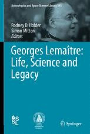 Georges Lematre And Fred Hoyle Contrasting Characters In Science