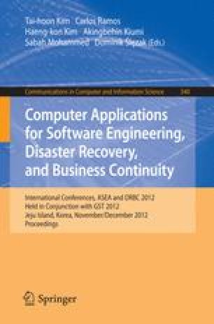 Computer Applications for Software Engineering, Disaster Recovery, and Business Continuity