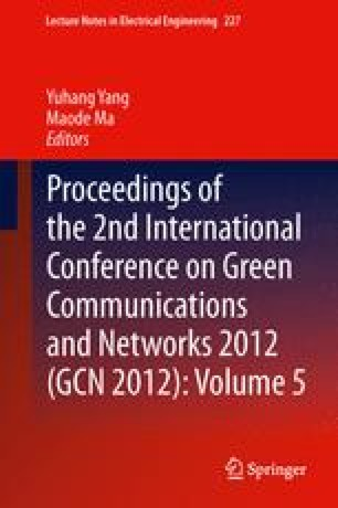 Proceedings of the 2nd International Conference on Green Communications and Networks 2012 (GCN 2012): Volume 5