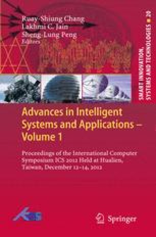Advances in Intelligent Systems and Applications - Volume 1