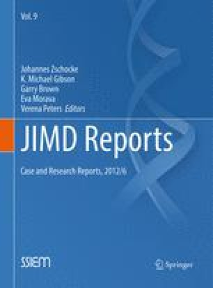 JIMD Reports – Case and Research Reports, 2012/6