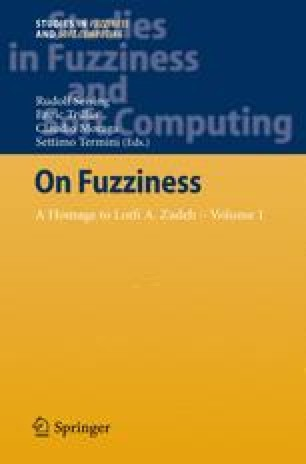 On Fuzziness