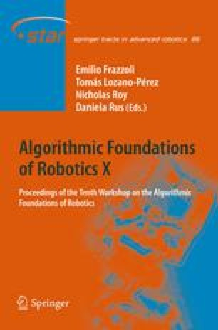 Algorithmic Foundations of Robotics X