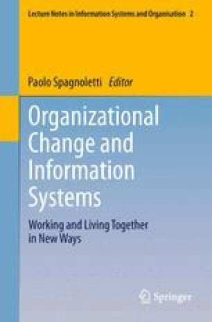 Organizational Change and Information Systems