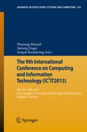 The 9th International Conference on Computing and InformationTechnology (IC2IT2013)