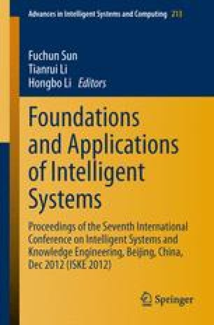Foundations and Applications of Intelligent Systems