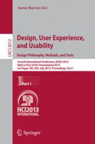 Design, User Experience, and Usability. Design Philosophy, Methods, and Tools