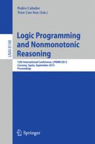 Logic Programming and Nonmonotonic Reasoning