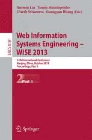 Web Information Systems Engineering – WISE 2013