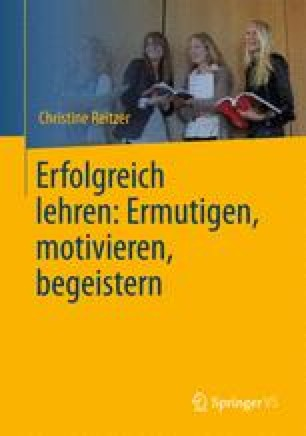 Motivation durch Ermutigung | SpringerLink