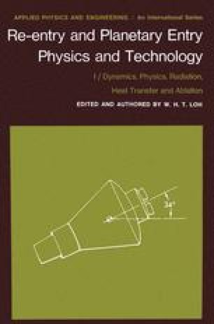 Re-entry and Planetary Entry Physics and Technology