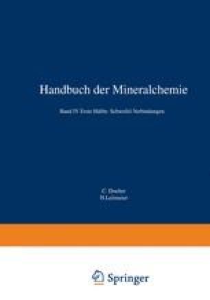 Verbindungen Von S As Sb Bi Mit Germanium Und Anderen