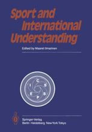 Sport and International Understanding