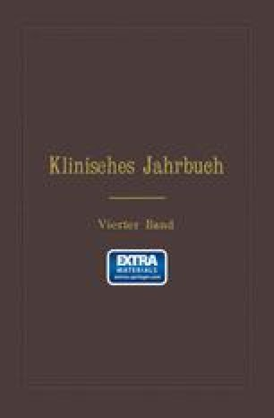 Klinisches Jahrbuch