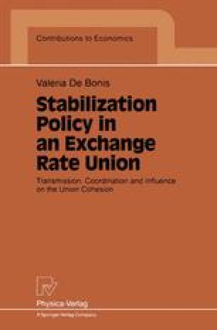 Stabilization Policy in an Exchange Rate Union