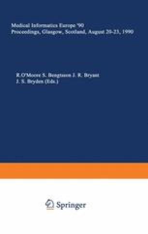 Medical Informatics Europe '90