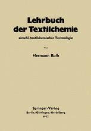Lehrbuch der Textilchemie einschl. textilchemischer Technologie