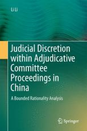 Judicial Discretion within Adjudicative Committee Proceedings in China