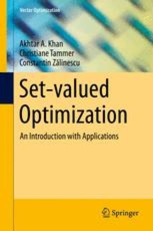 Set-valued Optimization