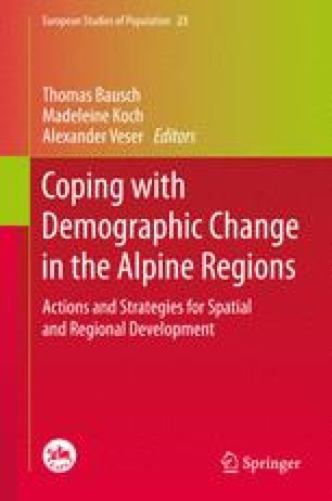 Coping with Demographic Change in the Alpine Regions