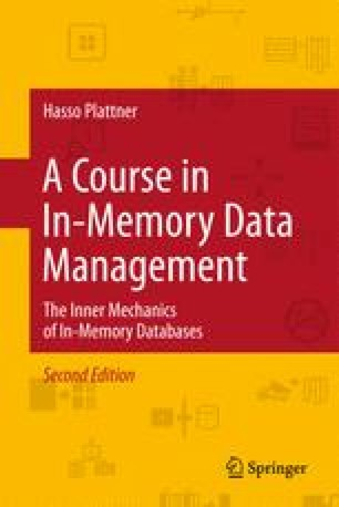 A Course in In-Memory Data Management