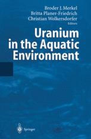 Uranium in the Aquatic Environment