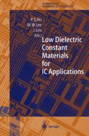 Low Dielectric Constant Materials for IC Applications