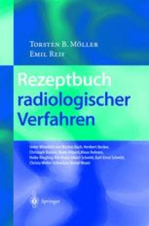 Rezeptbuch radiologischer Verfahren